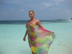 17. Голая Анастасия Волочкова на горячих фото с отдыха на Мальдивах