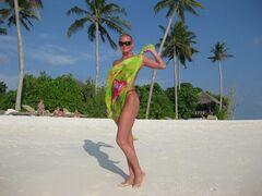 18. Голая Анастасия Волочкова на горячих фото с отдыха на Мальдивах