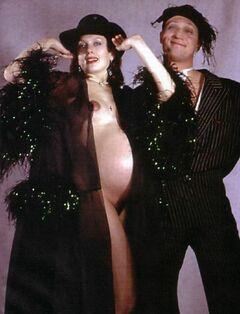 Фото голой Марии Порошиной во время беременности