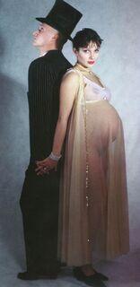4. Фото голой Марии Порошиной во время беременности
