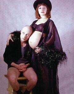 5. Фото голой Марии Порошиной во время беременности