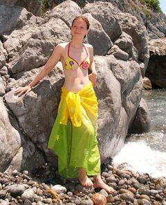 5. Ольга Будина в купальнике