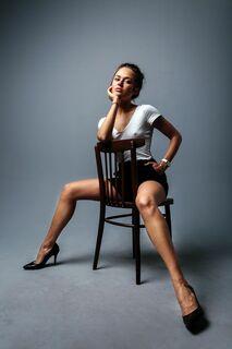 5. Горячая фотосессия Дарьи Руденок (грудь, ножки)