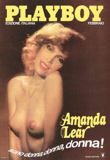 Горячие фото голой Аманды Лир в эротических журналах