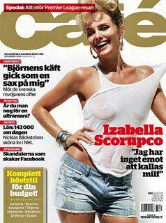 Горячие фото Изабелла Скорупко в нижнем белье из журналов