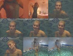 Голая Александра в сериале «Удар лотоса 3. Загадка Сфинкса» (2003)