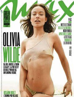 Горячие фото с голой Оливией Уайлд из журналов