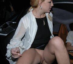 Бритни Спирс засветила киску