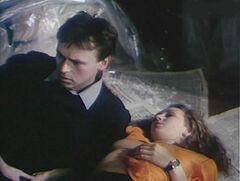 Откровенные сцены с Таней Лютаевой в фильме «Ты есть» (1993)