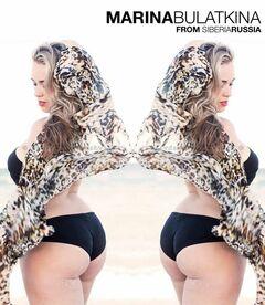 28. Модель Мария Булаткина на фото в купальнике