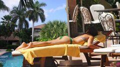 4. Кристин Кройк в купальнике и нижнем белье