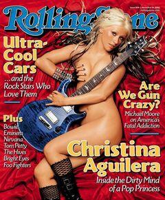 Обнаженная Кристина Агилера на фото из мужских журналов