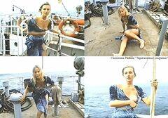 Засветы груди Светланы Рябовой в фильме «Заряженные смертью» (1991)