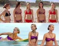 Засветы Люси Фрай в сериале «Неземной сёрфинг» (2012)