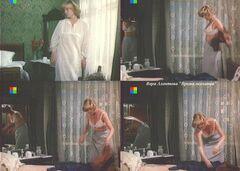 Кадры с Верой Алентовой в стиле «ню» из фильма «Время желаний» (1984)