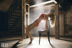 Откровенные фото Веры Брежневой из журнала Elle