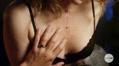 Дина Мейер в нижнем белье в киноленте «Evil Doctor» (2018)
