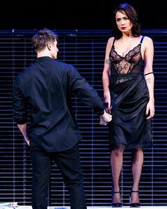 Жаркая сцена с Настасьей Самбурской из спектакля